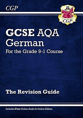 £3.29 • Buy GCSE German AQA Revision Guide - For The Grade 9-1 Course (with ... By CGP Books