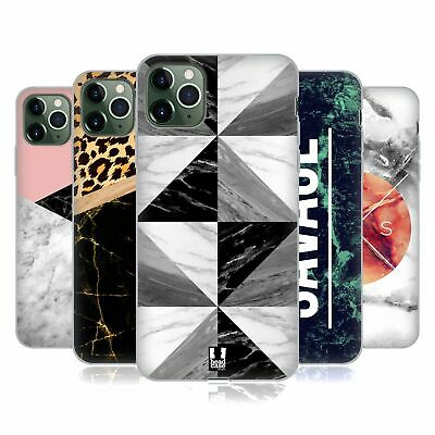 HEAD CASE DESIGNS MARBLE TREND MIX SOFT GEL CASE FOR APPLE IPHONE PHONES • 7.95£