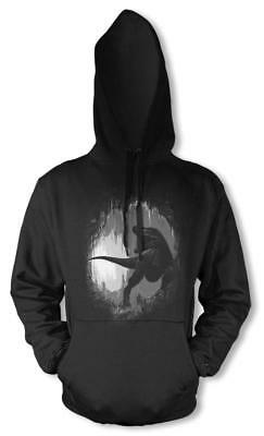 Bnwt Prehistoric Cave Dinosaur T-rex Extinct Animal  Hoodie Adult  S-xxl • 16.99£
