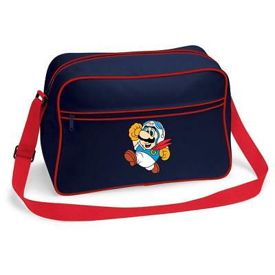 Bnwt Speedy Mario Racer Nintendo Gamer Messenger Shoulder Bag School College • 15.99£
