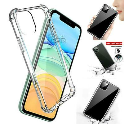 AU5.95 • Buy Shockproof Tough IPhone 12 11 Pro Max XR XS 8 7 Hard Clear Case Cover For Apple