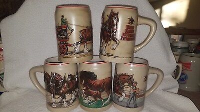$ CDN105.22 • Buy Budweiser Clydesdale Series  (complete Set)