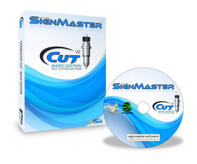 £97 • Buy SignMaster Cutting Software For Smurf / Vicsign Cutter Plotter