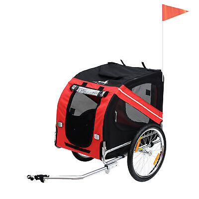 £91.99 • Buy PawHut Bicycle Pet Trailer Dog Folding Jogger Stroller Carrier Cycle Luggage