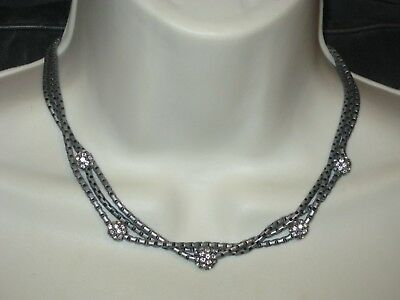 $ CDN31.69 • Buy Lia Sophia KIAM COLLECTION CALEIGH NECKLACE- LOTS OF SPARKLE -RV $128 LOVELY