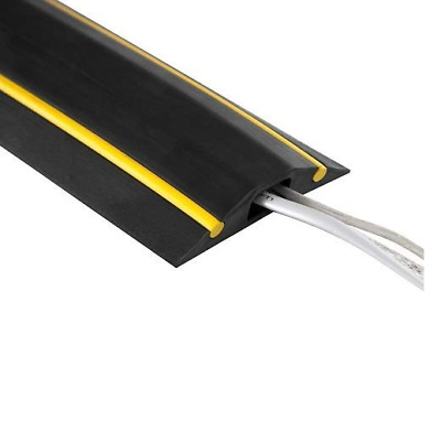 Chargeline Hazard Black & Yellow Cable Protector/ Floor Cable Cover Tidy 50cm-9m • 8.99£