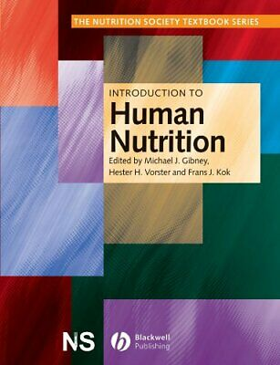 £11.99 • Buy Introduction To Human Nutrition (The Nutrition Society Textbook) Paperback Book