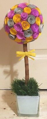 Paper Flower Topiary Tree/Table Centrepiece/Table Decoration/Wedding/Gift/30cm • 15.99£