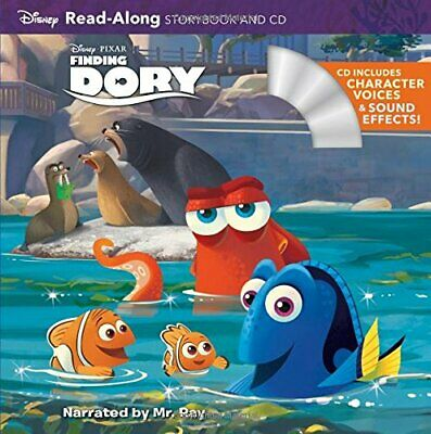 Finding Dory (Read-Along Storybook And CD) By Disney Storybook Art Book The • 5.99£