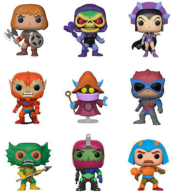 $300 • Buy Funko POP! Television ~ MASTERS OF THE UNIVERSE 9-FIGURE SET W/SPECIALTY