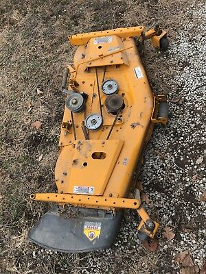 cub cadet mower deck