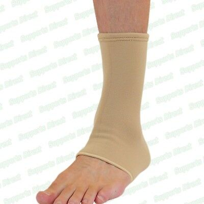 £4.99 • Buy Elastic Ankle Support Compression Wrap Brace For Foot Sprain Injury Pain Strap
