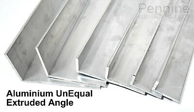 £6.69 • Buy UNEQUAL Extruded Aluminium Angle Bandsaw Cut From UK Trade Metal Supplier