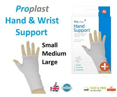 HAND & WRIST SUPPORT Pain Relief Glove Carpal Tunnel Hand Brace RSI Injury UK • 2.80£