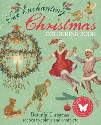 The Christmas Colouring Book (Colouring Books) By Margaret Tarrant Book The Fast • 10.98£