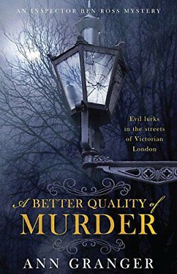 £5.99 • Buy A Better Quality Of Murder (Lizzie Martin 3) By Granger, Ann Hardback Book The