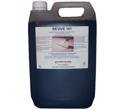 5L Revive 101 Carpet Shampoo Cleaning Solution 4 Use With Vax Platinum Machines • 27.95£