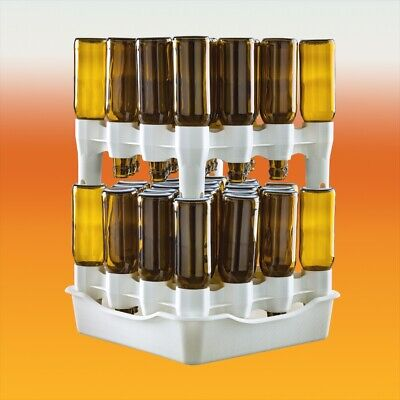 £21.35 • Buy Easy Drainer - Stackable Bottle Draining System For Home Brew Beer And Wine