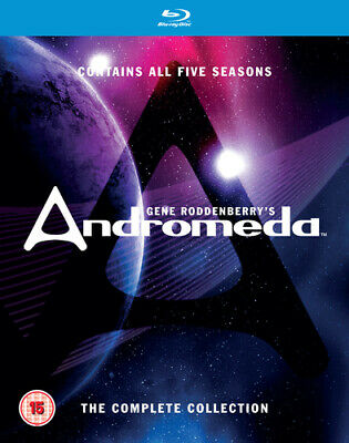 Andromeda: The Complete Andromeda Blu-Ray (2016) Kevin Sorbo Cert 15 25 Discs • 49.32£