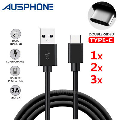 AU5.25 • Buy Rapid Charging Type-C USB C Data Sync Cable Cord Charger For Samsung S9 Google