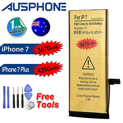 AU13.99 • Buy For Apple IPhone 7/7 PLUS High Capacity Internal Battery Replacement Tools