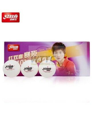 AU7.15 • Buy DHS 1 Star D40+ Cell Free White Table Tennis Balls ITTF Approved (Pack Of 10)