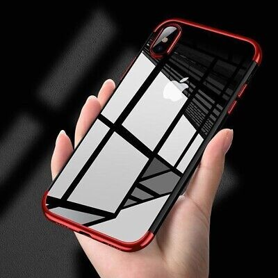 AU3.90 • Buy Retail Bumper Shockproof Slim Cover Thin Soft TPU Case For IPhone XS 6S 7 8 Plus