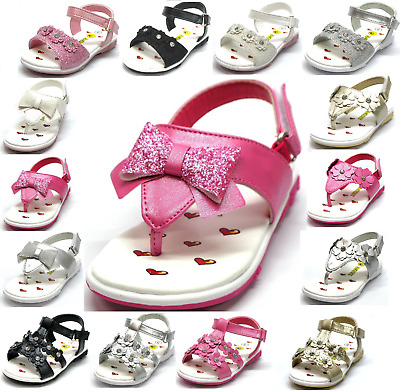 $13.95 • Buy New Baby Toddler Girls And Youth Kids Sandals Gladiator T Strap Flip Flop Shoes