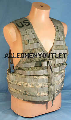 $16.90 • Buy Tactical Fighting Load Carrier Vest MOLLE ACU FLC SDS LBV US Army Military NICE