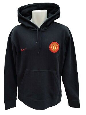 New Vintage NIKE MANCHESTER UNITED  Football Club Cotton Pullover Hoodie M • 44.99£