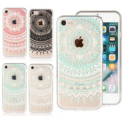 AU6.90 • Buy Shockproof IPhone XS 8 7 Plus 6 Case Soft Mandala Clear 3D Print Cover For Apple