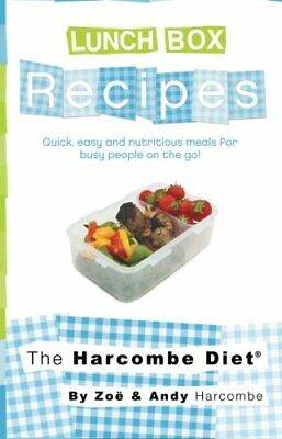 £8.99 • Buy The Harcombe Diet Lunch Box Recipes By Harcombe, Zoe Book The Cheap Fast Free