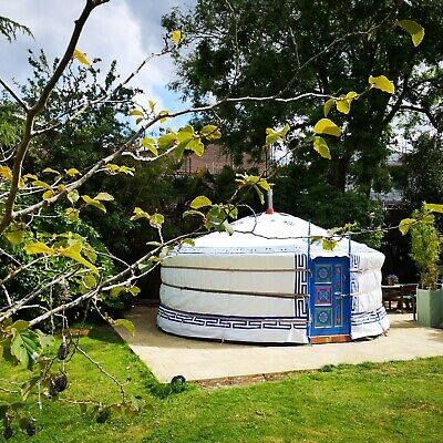 £4950 • Buy Beautiful Authentic Handcrafted Mongolian Yurt 5m -Tipi, Ger, Canvas Tent