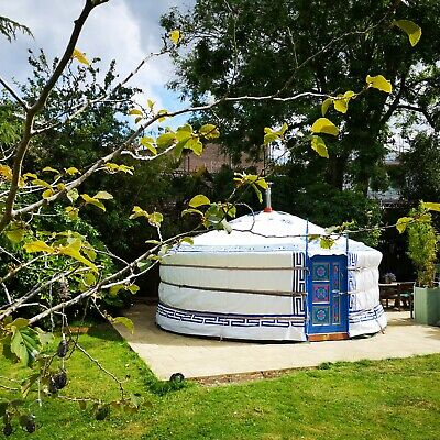 Beautiful Authentic Handcrafted Mongolian Yurts -Tipi, Marquee, Ger, Canvas Tent • 4,350£