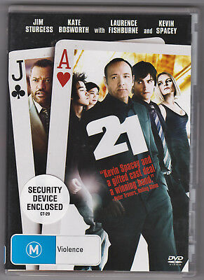 AU7.29 • Buy Like New Dvd 21 Kevin Spacey