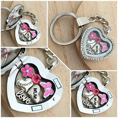 Mother's Day Gifts - Keyring Gift For Mum Nana Nanny Nan Grandma Aunt Friend #6 • 5.99£