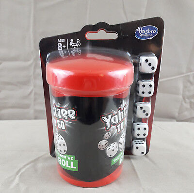AU18.41 • Buy YAHTZEE TO GO Travel Game By Hasbro Gaming - NEW & SEALED Shake And Score