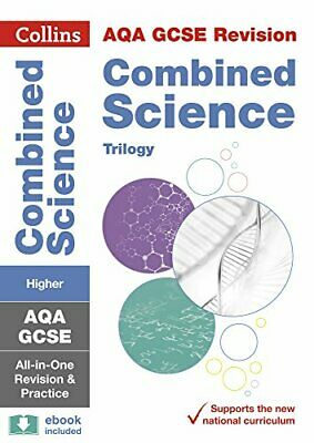 £8.99 • Buy Grade 9-1 GCSE Combined Science Trilogy Higher AQA All-in-One... By Collins GCSE