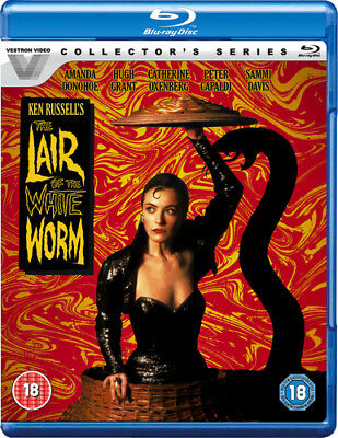 The Lair Of The White Worm Blu-Ray (2018) Amanda Donohoe, Russell (DIR) Cert 18 • 12.51£