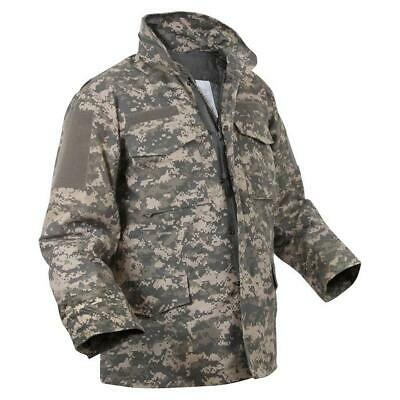 AU123.33 • Buy U.s Military Issue M-65 Field Jacket With Liner Acu Camouflage X- Large