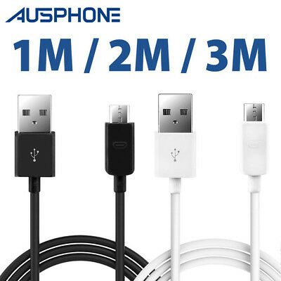 AU4.65 • Buy Micro USB Charger Cable For Samsung Galaxy J12345678 S6 S7 S4 Note5 Huawei Oppo