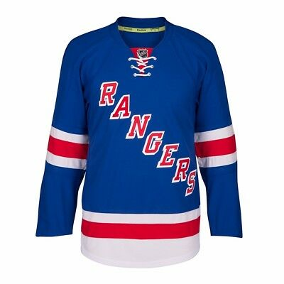 8e4e1cae2 New York Rangers Reebok On-Ice Edge 2.0 Authentic Home Blue Jersey Men s •  112.49