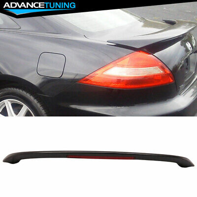 $73.99 • Buy Fits 03-05 Honda Accord 2Dr Coupe OE Factory ABS Trunk Spoiler 3rd LED Brake