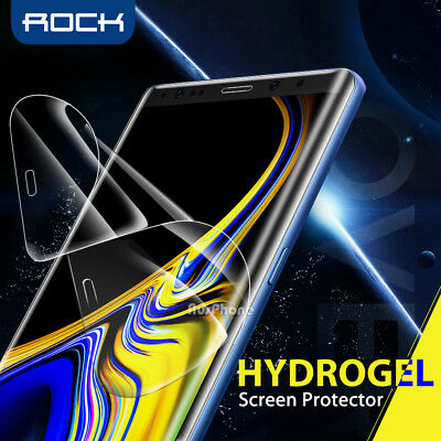 AU6.95 • Buy ROCK AQUA HYDROGEL Screen Protector For Samsung Galaxy S10 S9 S8 Plus Note 9 8