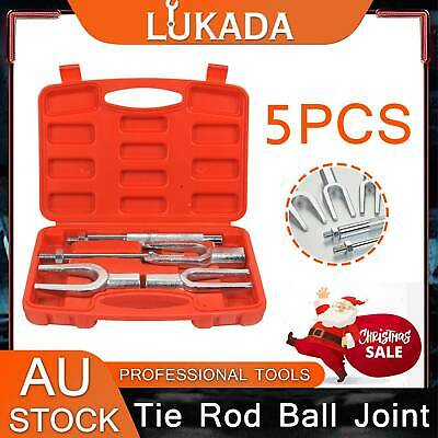 AU36.50 • Buy LUKADA 5pc Tie Rod Ball Joint Pitman Arm Separator Remover Set Pickle Fork Tool