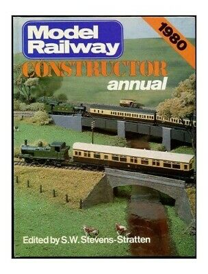 Model Railway Constructor  Annual 1980 Hardback Book The Cheap Fast Free Post • 5.99£