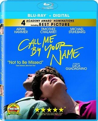 AU20.59 • Buy Call Me By Your Name [New Blu-ray] Ac-3/Dolby Digital, Dolby, Widescreen