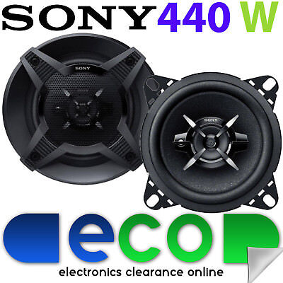 Citroen C1 2005-2014 SONY 10cm 4  440 Watts 3 Way Car Top Dash Board Speakers • 27.99£