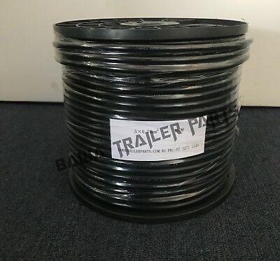 AU154 • Buy Cable 5 Core 100m Roll!perfect For Trailers