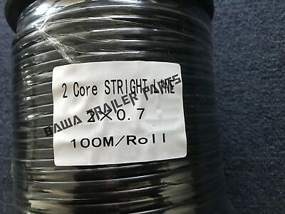 AU88 • Buy  Cable 2 Core  100m Roll!perfect For Trailers
